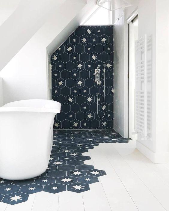 star motif decor home interior design lifestyle blog bathroom