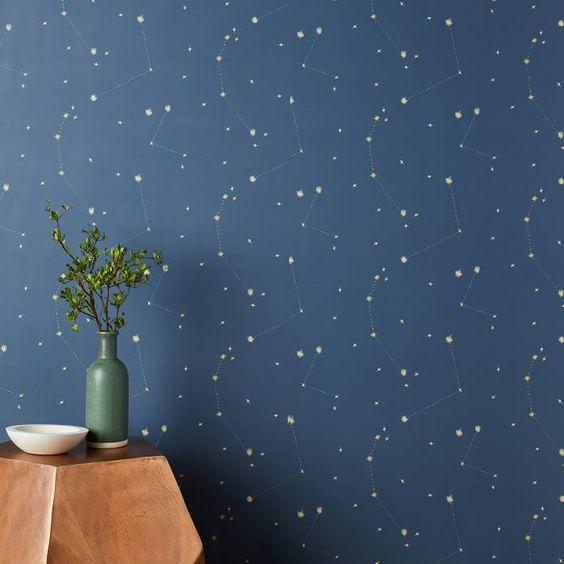 astrological constellation motif decor home interior design lifestyle blog