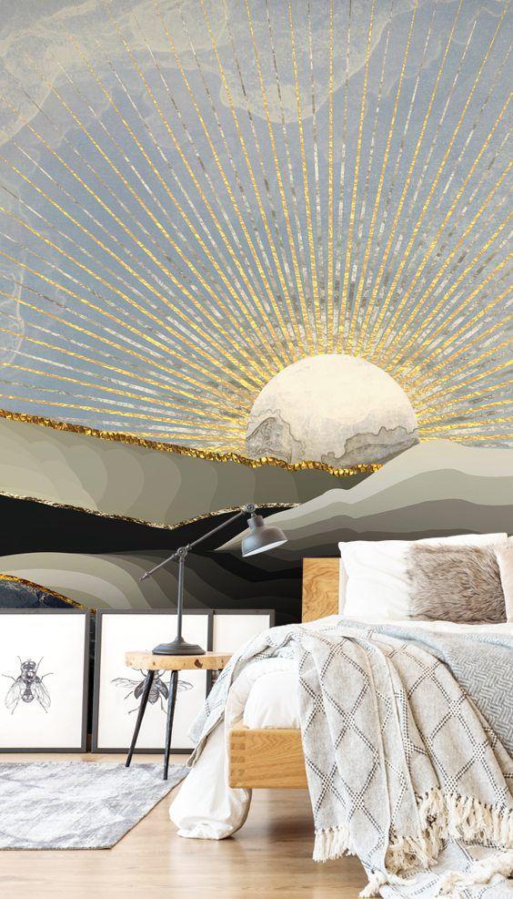 astrological sun motif decor home interior design lifestyle blog