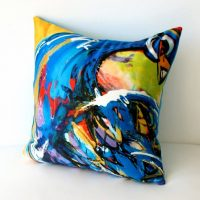 samantha clark waters hey stella cushion enchanted peacock cover