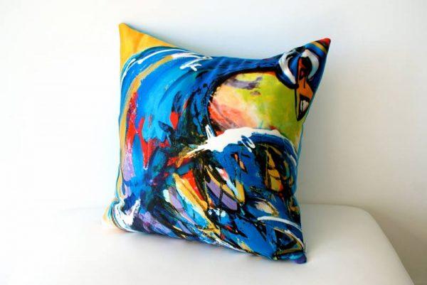 samantha clark waters hey stella cushion enchanted peacock cover