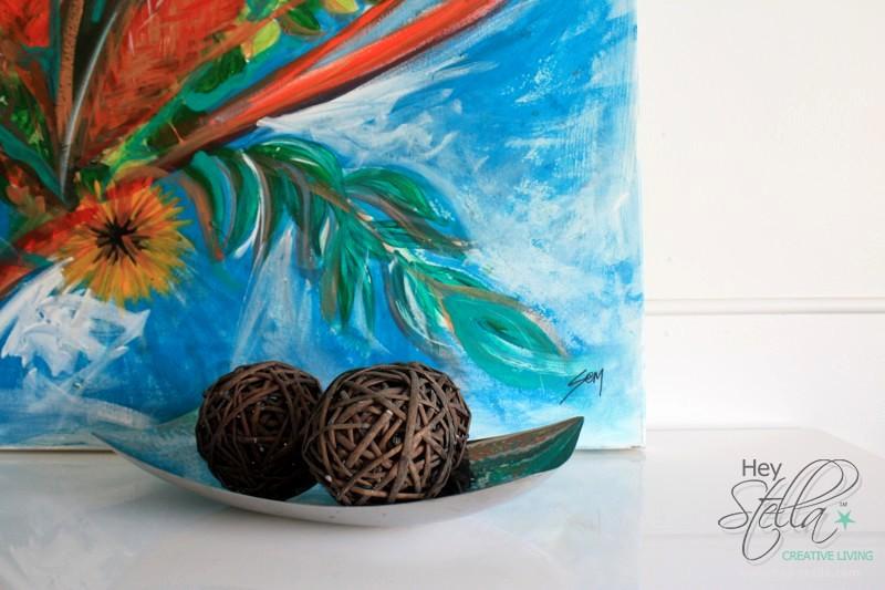native artwork commission gold coast abstract modern australian