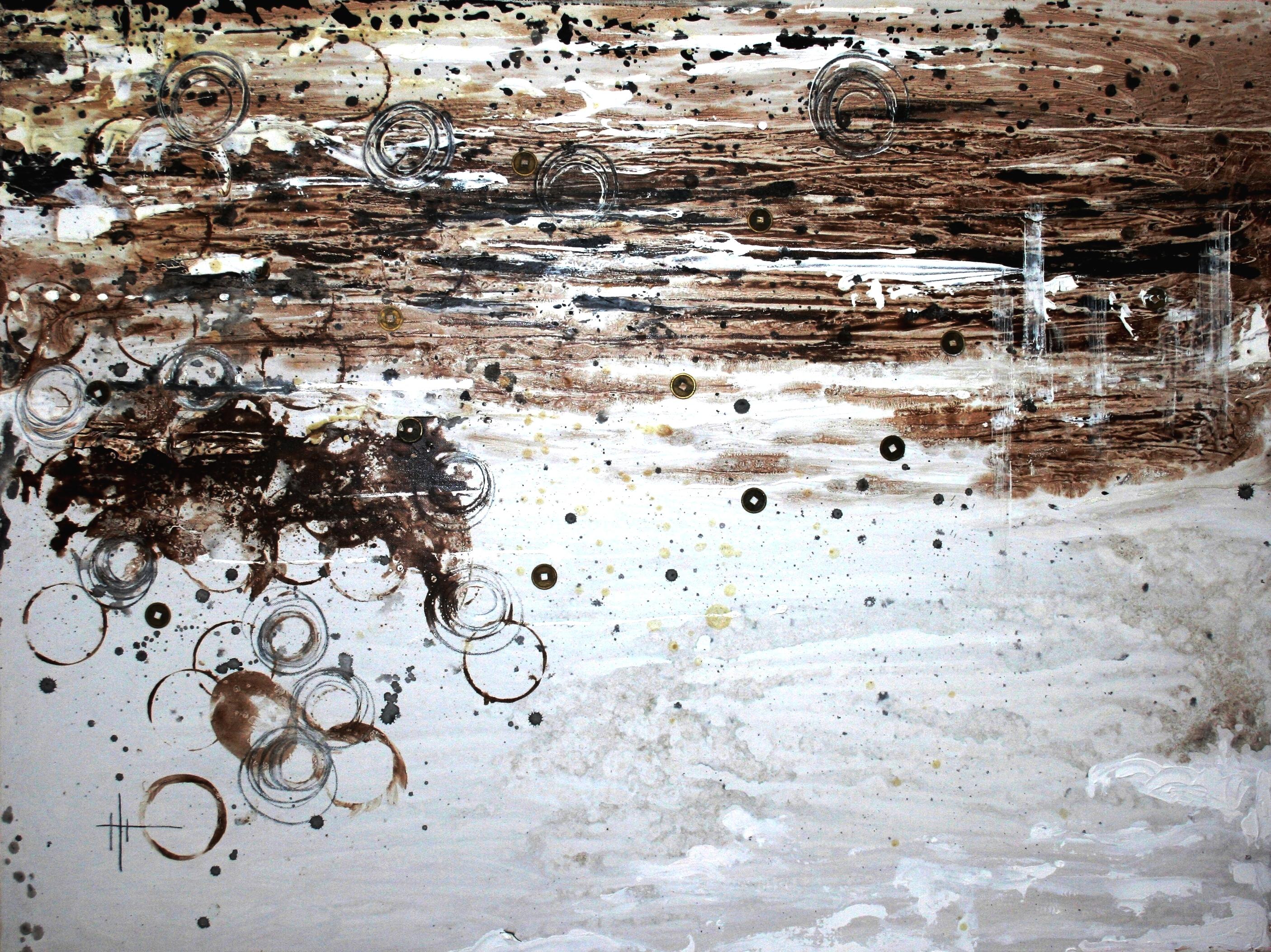 samantha clark waters artist australian gold coast abstract neutral