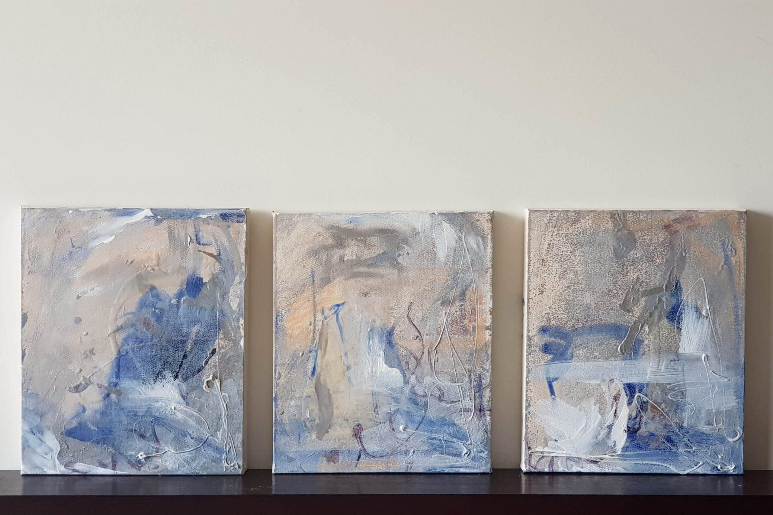 samantha waters art for sale gold coast portfolio hamptons seaside abstract