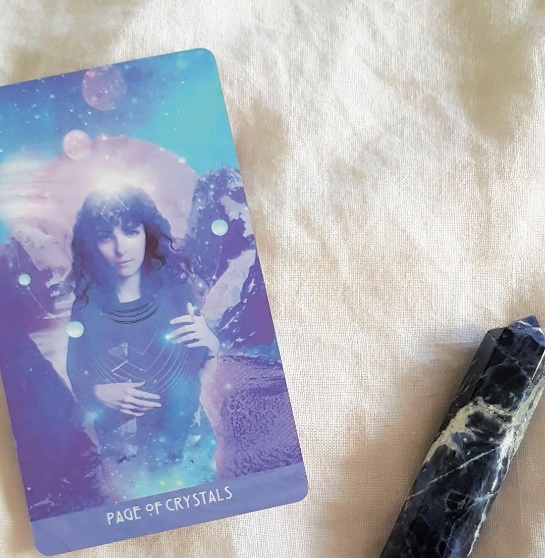 samantha waters spiritual healing health tools tarot cards wand