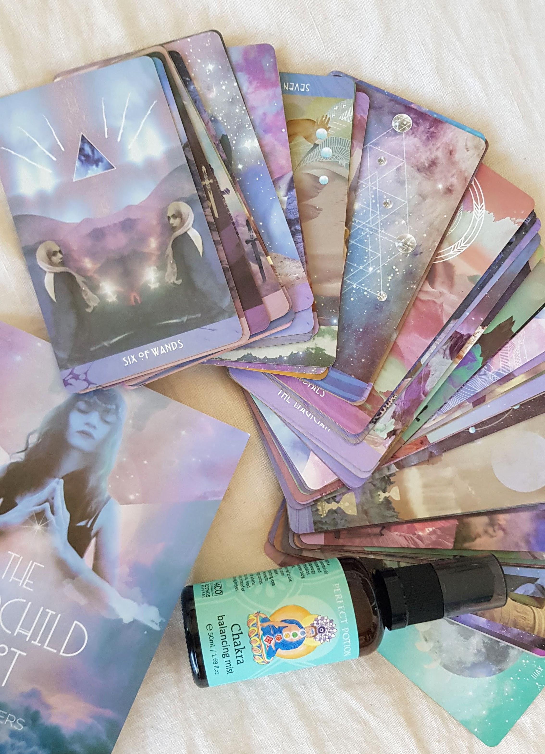 spiritual healing health deck starchild tarot cards lifestyle blog