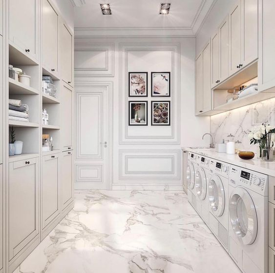 luxe laundry room interiors blog home design