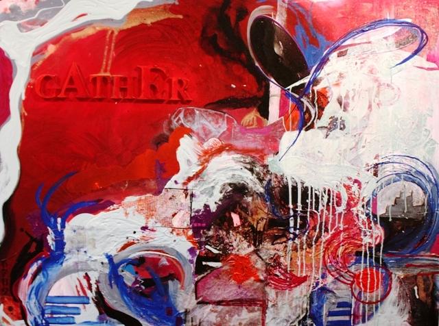 gather hey stella gold coast artist original abstract expressionist