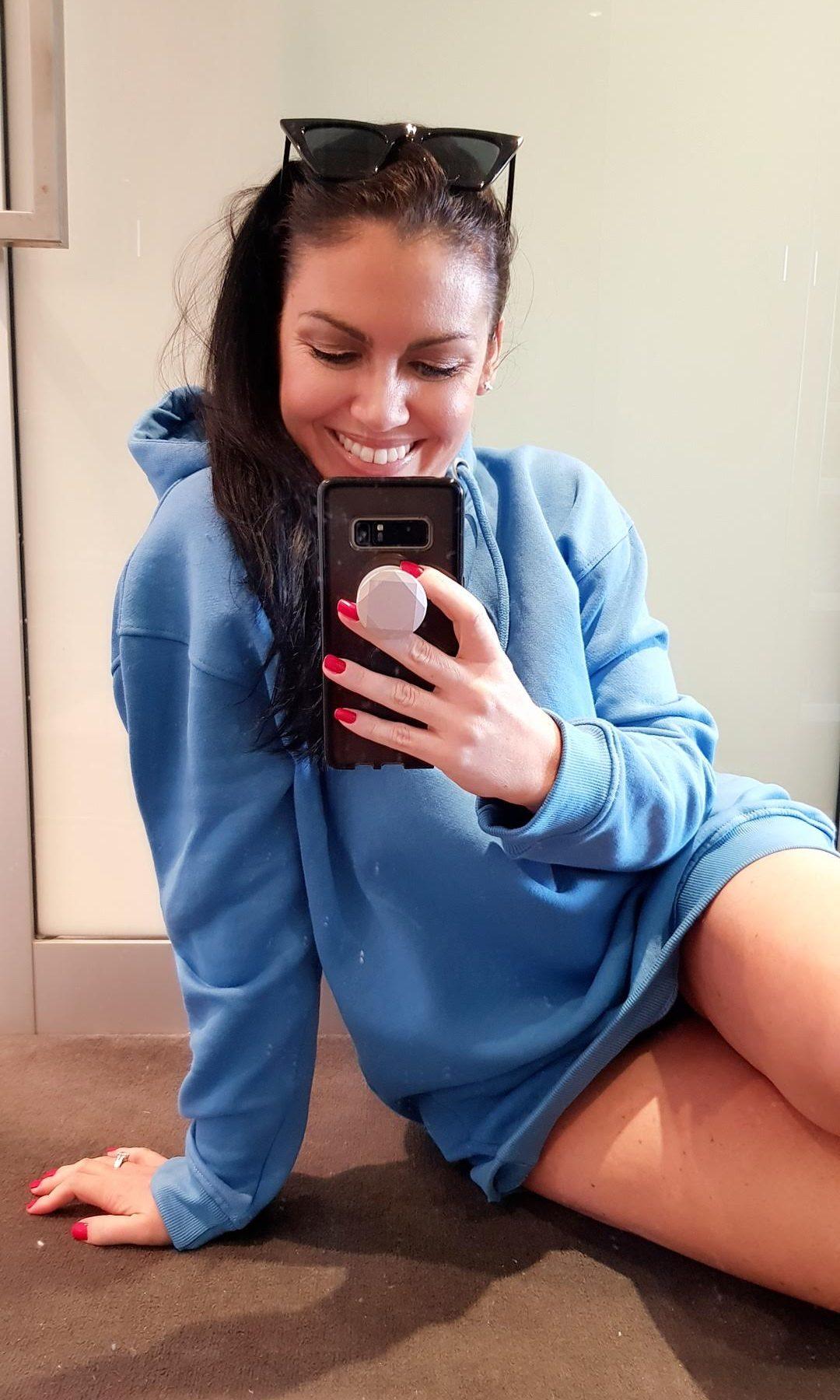 sweater weather hoody dress fashion lifestyle loungewear trend blog