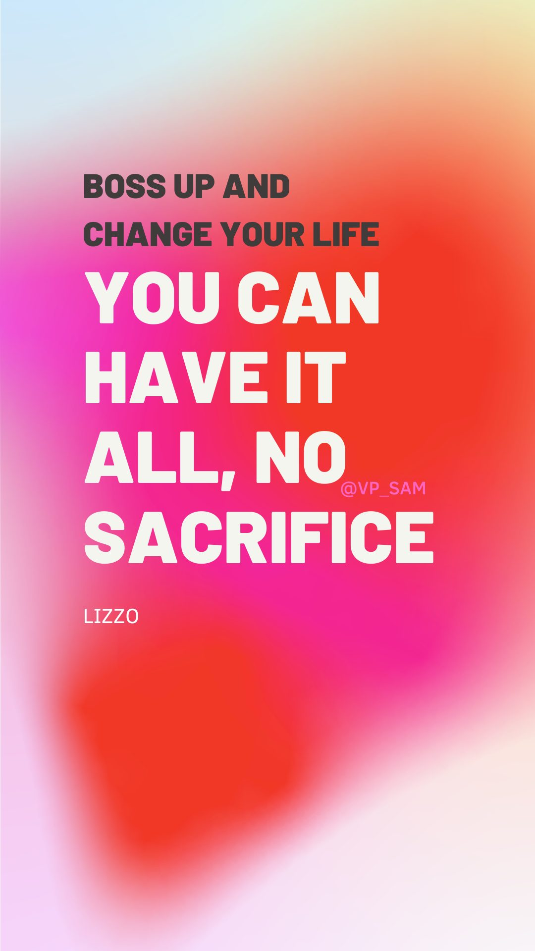 lizzo power confidence boss up life quote lyrics wallpaper