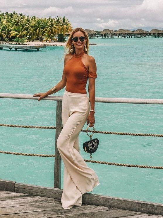 vacation bora bora fashion wardrobe personality
