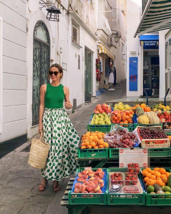 vacation isle capri italy fashion wardrobe personality