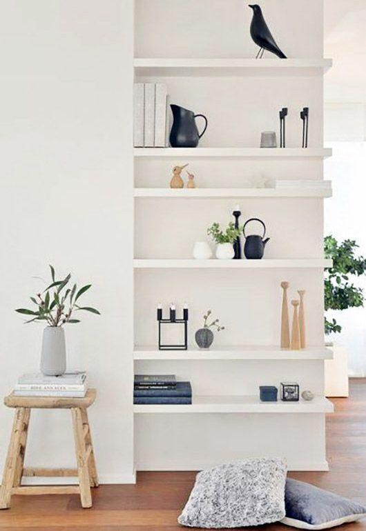 book shelf style interiors blog minimal scandi